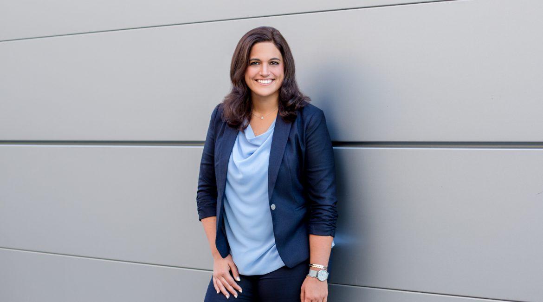 Business Portraitaufnahme einer Frau