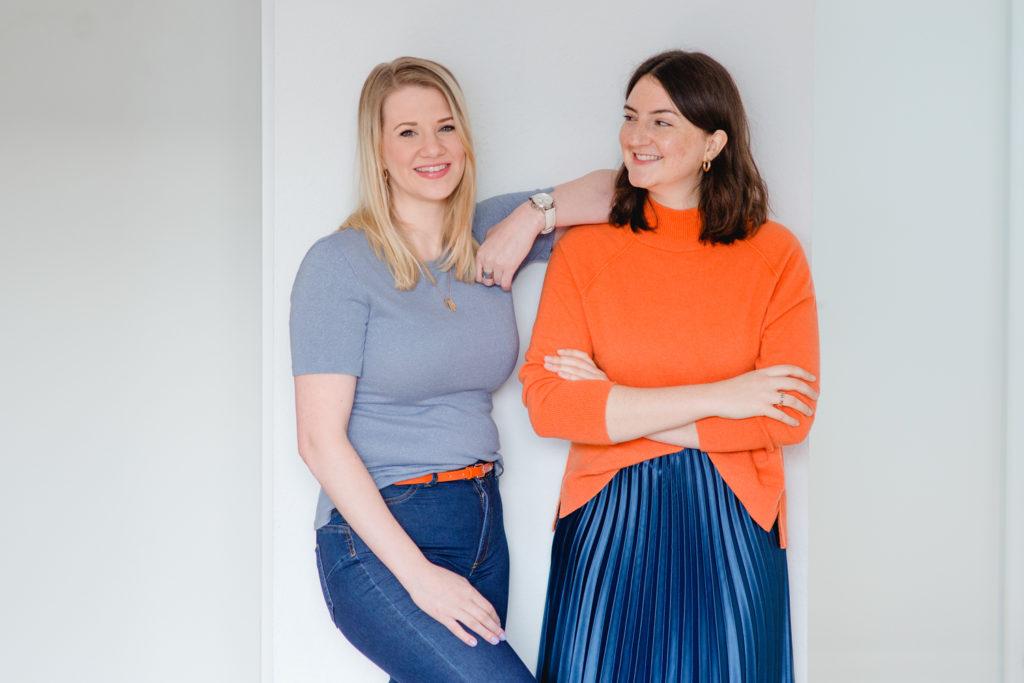 Lea Matschke und Melanie Wagenfort von Brajuu